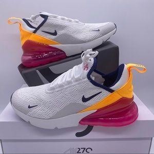 Nike Air Max 270 Running Shoe Laser Fuchsia Pink